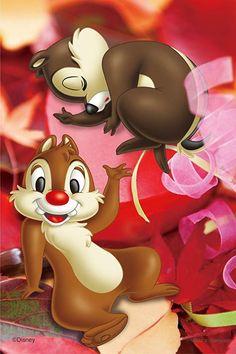 Chip et Dale Bambi Disney, Disney Jasmine, Cute Cartoon Drawings, Disney Drawings, Wallpaper Iphone Cute, Aesthetic Iphone Wallpaper, Disney Christmas Decorations, Walt Disney Characters, Hello Kitty Backgrounds