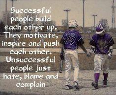 Successful people..