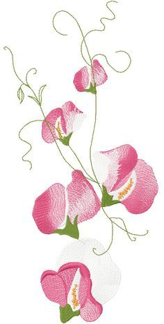 Air Flower Free Embroidery Design Flowers Free Machine Embroidery Designs Embroidery Patterns Vintage Flower Embroidery Designs Machine Embroidery Designs