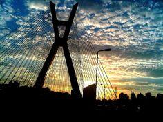 Ponte Estaiada - SP - Brasil