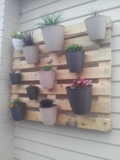My First (But Not Last) Pallet Project: A Vertical Garden Planters & Compost