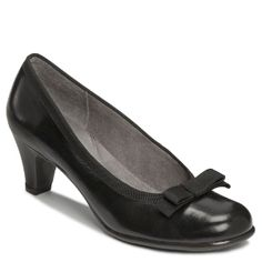 Women's Aerosoles Playhouse - Black Leather