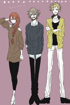 Severa, Inigo, and Owain