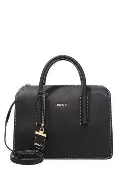 DKNY BRYANT PARK  Torebka black torebki kopertówki torby