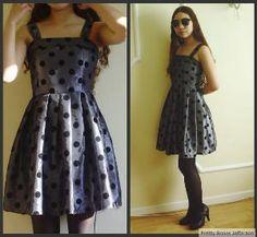 $33.00 80\'s Polka Dot Summer Dress by PrettyBonesJefferson