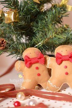 * gingerbread pattern included.  Atelier - Boutique D' Caroline: Molde biscoito de natal {Ginger}