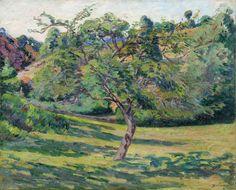 ARMAND GUILLAUMIN (1841-1927) Paysage de la Creuse (Painted circa 1893)