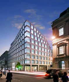 100 Cheapside. Inspiring design coming to London #NewDevelopmentsLondon #Architecture #London