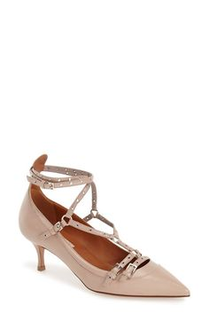 Valentino 'Love Latch' Pointy Toe Pump (Women) available at #Nordstrom