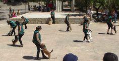 #exhibicion #dogdancing font jordana Agullent en el Primer concurso nacional de belleza canina