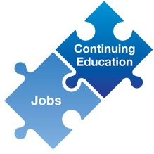 The perfect union: job listings + continuing education activities... in a single mobile app