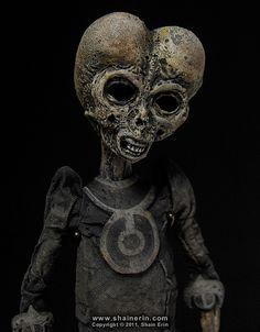 Alien Mummy by Shaine Erin