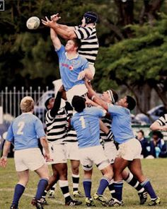 Action photo of school rugby