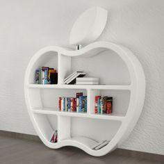 Libreria da parete moderna a mela Gluttony