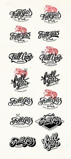 FullGas Garage Branding