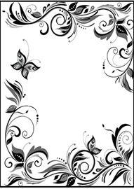Clip art wedding borders free wedding invitation border big image stopboris Choice Image