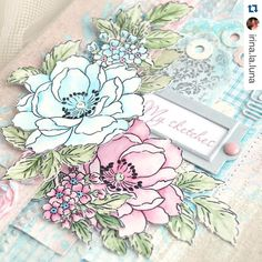 "378 Synes godt om, 15 kommentarer – Altenew (@altenewllc) på Instagram: ""Hey, lovely! Hope you all have a fabulous day! #BeautifulDayStampSet #Repost @irina.la.luna with…"""