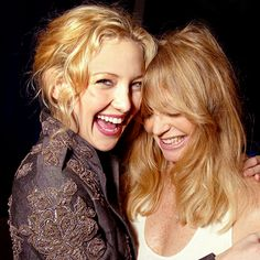 Kate Hudson and Goldie Hawn.. beautiful!