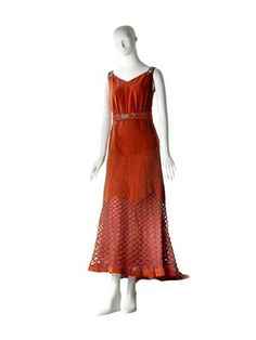 Dress Worth, 1934 The Museum of the City of New York