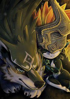 Legend Of Zelda Midna, Legend Of Zelda Tattoos, Legend Of Zelda Memes, Legend Of Zelda Breath, Anime Wolf, M Anime, Zelda Wallpaper, Link Twilight Princess, Deviantart