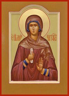 St. Monica Russian Orthodox icon