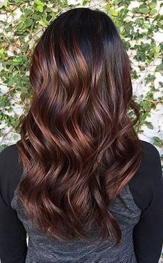 hair color to try - roasted coffee bean brunette