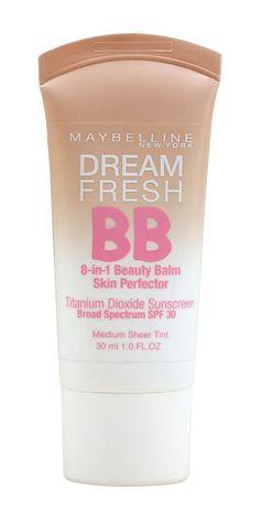 Drugstore BB Cream with Skin Benefits | Makeup Tutorials http://makeuptutorials.com/14-beautifying-bb-creams