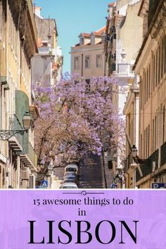 15 Awesome Things To Do in Lisbon, Portugal - - There are a myriad of amazing attractions in the Portuguese capital of which I decided to show you 15 of the most awesome things to do in Lisbon. Europe Travel Tips, Spain Travel, European Travel, Travel Destinations, Portugal Vacation, Portugal Travel Guide, Portugal Trip, Italy Vacation, Reisen In Europa