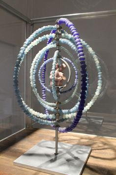Louise Bourgeois - The Couple, 2002 - Glass, beads, fabric and steel