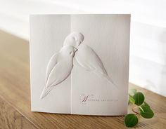White Embossed Wedding Invitations Cards + Envelopes + Seals in Home & Garden, Wedding Supplies, Invitations & Stationery Embossed Wedding Invitations, Wedding Invitation Card Design, Creative Wedding Invitations, Wedding Card Design, Wedding Stationery, Wedding Cards, Embossed Business Cards, Korean Wedding, Wedding Supplies