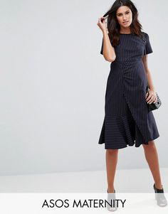 18140592a847b Get this Asos Maternity's jersey dress now! Click for more details.  Worldwide shipping.