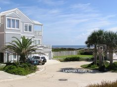 beach houses | ... is a gated beachfront community located at Crescent Beach Florida