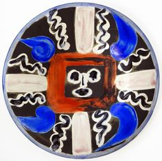picasso plates | Picasso Ceramic | Face No. 54, 1963 (Sold)