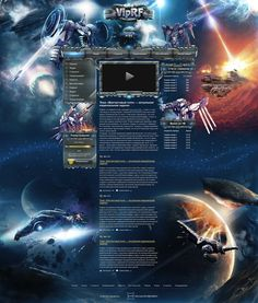 Site for game RF-online by DattaDesign
