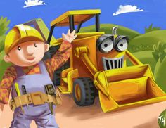 Bob the Builder by ~ obsession when younger