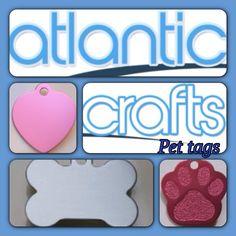 Pet tag engraving @AtlanticCrafts