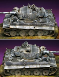 Bolt Action Miniatures, Trump Models, Tiger Painting, Tank Armor, Tiger Ii, Model Tanks, Armored Fighting Vehicle, Ww2 Tanks, German Army