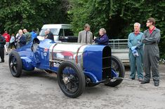 1920 Sunbeam 350 HP. It was the last car to break the Land Speed record at Brooklands.
