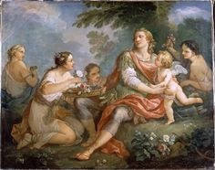 Telemachus in the island of Calypso