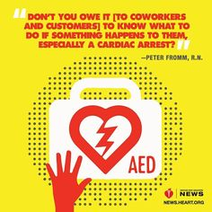 Most U.S. employees are not prepared for cardiac emergencies at work, according to new surveys. Many workers don't have access to CPR and first aid training, and half could not locate an AED at work. Considering people spend a third of their lives at work, learning to treat an injury or save a life makes sense. #AHANews #CPRSavesLives