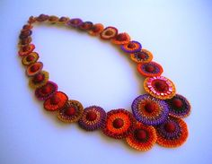 Medallion necklace by RareSpecimens on Etsy