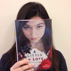 A Little in Love by Susan E. Fletcher is today's #bookfacefriday post!  #syosset #library #bookface #bookcovers #nypl #teenfiction #yafiction #alittleinlove #susanfletcher #syossetbookface #lesmiserables @scholasticinc