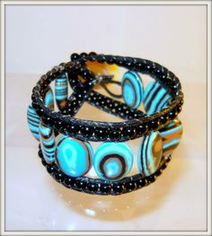 Chan Luu style Bracelet cuff made by SHmbK