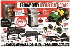 Academy Sports and Outdoors 2015 Black Friday Ad...check out the 20 pages of #BlackFriday deals.