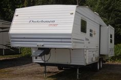 2003 Dutchmen Sport Ton Towable Fifth Wheel with sofa slide and rear bunks Used Rvs, Fifth Wheel, Rvs For Sale, Recreational Vehicles, Sports, Hs Sports, Camper, Sport, Campers