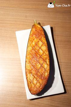Nasu miso dengaku 茄子味噌田楽 (aubergine grillée au miso)