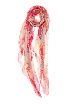 MANGROVE: Mangrove Tasha Scarf in Pink Buy Now $64.4 Find at Faearch