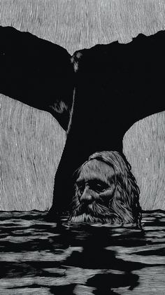 Barry Moser, The Sea Stopped Raging (Jonah and the Whale), Pennyroyal-Caxton Bible, 1970.