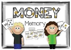 A memory game with collections of coins (Australian currency) Numeracy Activities, Money Activities, Teaching Money, Teaching Math, Fun Math, Math Games, Learning Resources, Student Learning, Australian Money