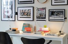 gorgeous desk! by cristina